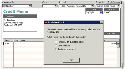 QuickBooks AvailableCreditWindow.png