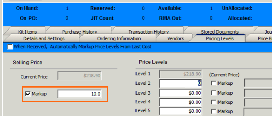 PricingLevelsTab Markup%Field.png