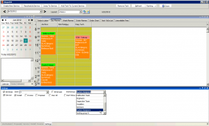 High 5 Software SME Dispatch Section Dispatch Filtered By WorkGroup Sample Screenshot