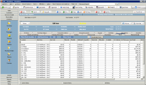 High 5 Software SME Inventory Section Inventory Stock Details Sample Screenshot